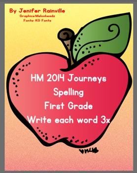 HM Journeys Spelling