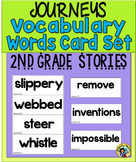 Journeys - Vocabulary Words Card Set   {Second Grade}