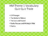 HM Theme 1 Vocabulary Quiz Quiz Trade