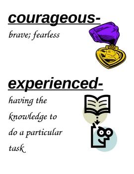 HM Theme 1 vocabulary cards