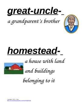 HM Theme 2 vocabulary cards