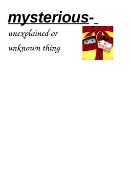 HM Theme 3 launch vocabulary cards