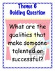 2nd Grade HM Theme 6 Unit Tied to CCSS: GOs, World Cafe, Writing Prompts