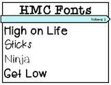 HMC Fonts Volume 2