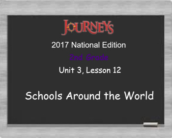 HMH 2017 National Journeys 2nd Grade Lesson 13 Schools Around the World