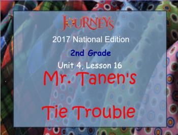 HMH 2017 National Journeys 2nd Grade Lesson 16  Mr. Tanen's Tie Trouble