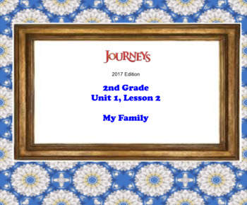 HMH 2017 National Journeys 2nd Grade Lesson 2 My Family