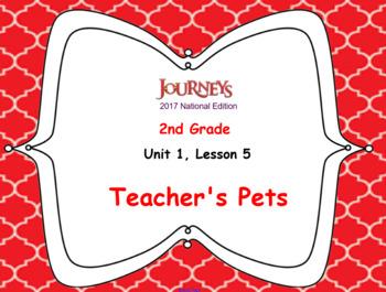HMH 2017 National Journeys 2nd Grade Lesson 5 Teacher's Pet