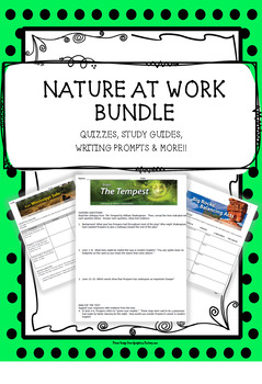 "HMH 7th Grade Collection 3 ""Nature at Work"" BUNDLE"