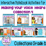 HMH Collections Grade 6 Collection 4 Making Your Voice Heard Bundle