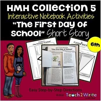 HMH Collection 5 Grade 6 Interactive Notebook Activities Bundle