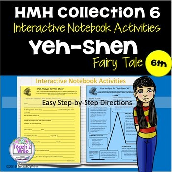 HMH Collections Collection 6 Grade 6 What Tales Tell Bundle Interactive Notebook