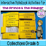 HMH Collections Grade 6 The Prince & the Pauper Interactive Notebook Activities