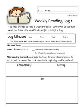 HMH Florida Journeys 4th Grade Fiction/Nonfiction Reader Response U1L1