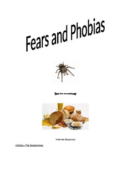 HMH Grade 6:  Fears and Phobias/From The Breadwinner
