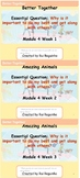 HMH Into Reading - 1st Grade - Complete Module 4 Weeks 1-3 Bundle