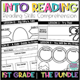 HMH Into Reading 1st Grade - Reading Skill Comprehension Worksheets (The BUNDLE)