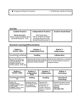 HMH Into Reading 4th Grade Module 3 Week 1