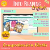 HMH Into Reading 4th Grade - Module 7 English