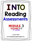 HMH Into Reading® ASSESSMENT Module 3 Lessons 1-3