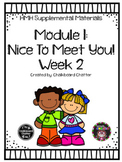 UPDATED - HMH Into Reading (Houghton Mifflin) - Module 1 W