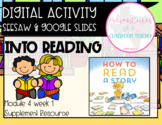 HMH 4.1 Into Reading- How to Read a Story (Digital and Paper Resource)