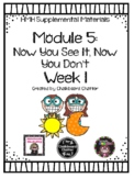 UPDATED - HMH Into Reading (Houghton Mifflin) - Module 5 W