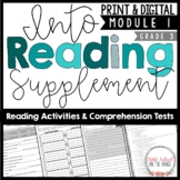 HMH Into Reading Third Grade Supplement Module One   Print