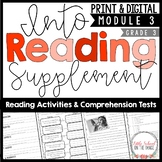 HMH Into Reading Third Grade Supplement Module Three - Distance Learning Google