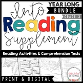 HMH Into Reading Third Grade YEAR LONG Bundle   Distance L
