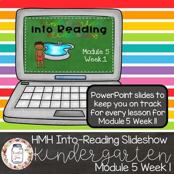 HMH Into Reading Kindergarten PowerPoint: Module 5 Week 1
