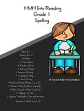 HMH Into Reading Spelling Resource Grade 1