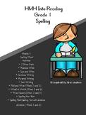 HMH Into Reading Spelling Resources Module 1 Grade 1