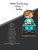 HMH Into Reading Spelling Resources Module 4 Grade 1