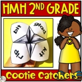 HMH Into Reading Spelling Words Cootie Catcher Centers 2nd Grade 2020