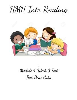 HMH Into Reading Test Module 4, Week 3