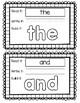 HMH Journey's Kindergarten - YEAR LONG BUNDLE! Sight Word Build Its/Play Doh Mat