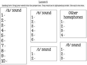 HMH Journeys 2014 Common Core Lesson 5 iPad Spelling Sort Stormalong
