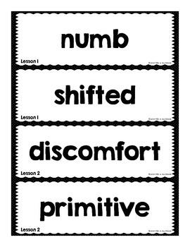 Journeys 2014 Fifth Grade Vocabulary Word Wall