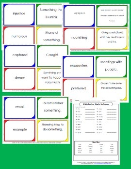 HMH Journeys 2014 Lesson 2 My Brother Martin Spelling/ Vocabulary Activities