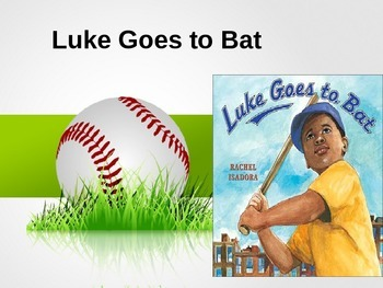HMH Journeys 2nd Grade Luke Goes To Bat Power Point