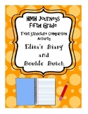Journeys Fifth Grade Double Dutch and Elisa's Diary Comparison Activity