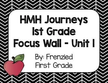 HMH Journeys First Grade Focus Wall - Unit 1