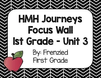 HMH Journeys First Grade Focus Wall - Unit 3