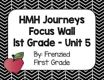 HMH Journeys First Grade Focus Wall - Unit 5