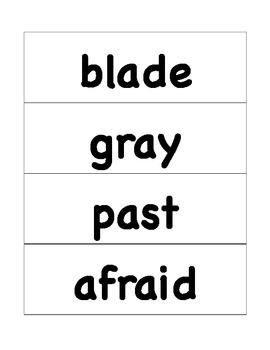 HMH Journeys Grade 4 Lesson 1 Spelling Cards for Pocket Chart