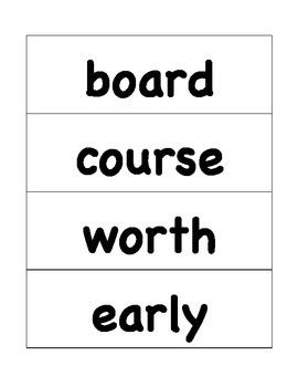 HMH Journeys Grade 4 Lesson 10 Spelling Cards for Pocket Chart