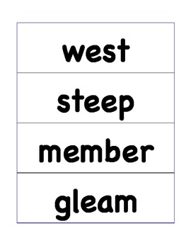 HMH Journeys Grade 4 Lesson 2 Spelling Cards for Pocket Chart