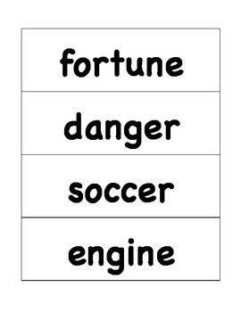 HMH Journeys Grade 4 Lesson 20 Spelling Cards for Pocket Chart
