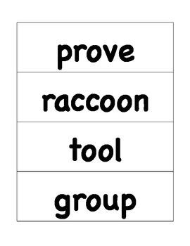 HMH Journeys Grade 4 Lesson 7 Spelling Cards for Pocket Chart